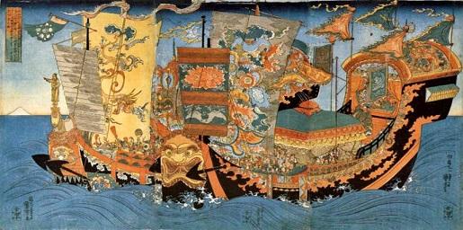 不死の妙薬を求めて紀元前219年に出航した徐福の船