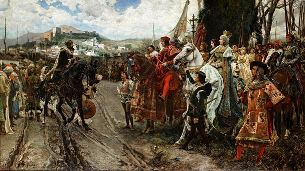 The Surrender of Granada by Francisco Pradilla Ortiz