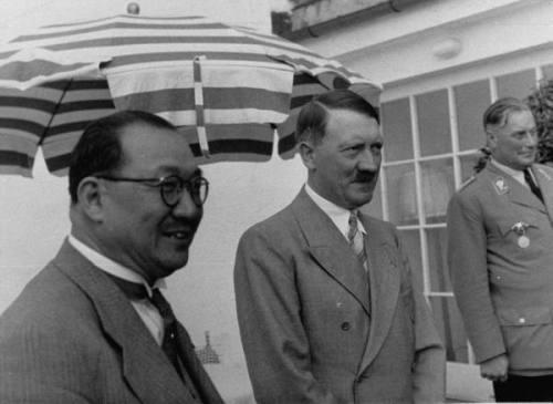 中独合作中にヒトラー総統を訪問した孔祥熙