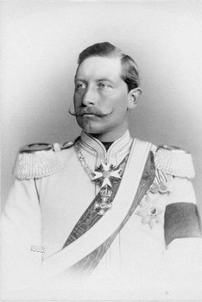 1888年、即位まもないヴィルヘルム2世
