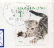 切手4  フィンランド