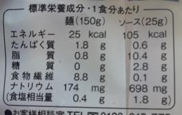 糖質0麺 成分