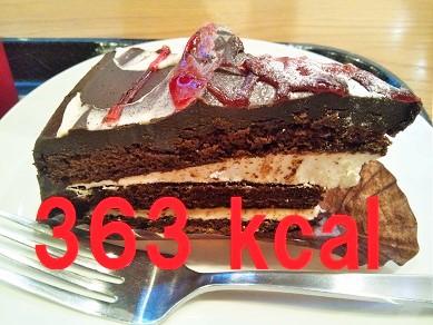 スタバ ラズベリーチョコレートケーキ