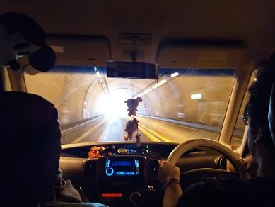 高速のトンネル