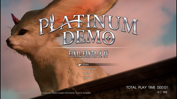 PS4 FINALFANTASY 14 プラチナデモファイナルファンタジー14 夢 体験版