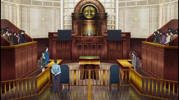 ゲームアニメ 逆転裁判 逆転裁判アニメ 異議あり!
