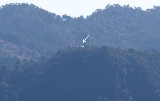 6次郎丸から鋸嶽の東屋2013年2月3日