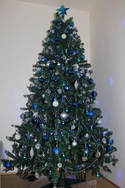 2015.12.01 今年はクリスマスツリー出しましたよ☆-4