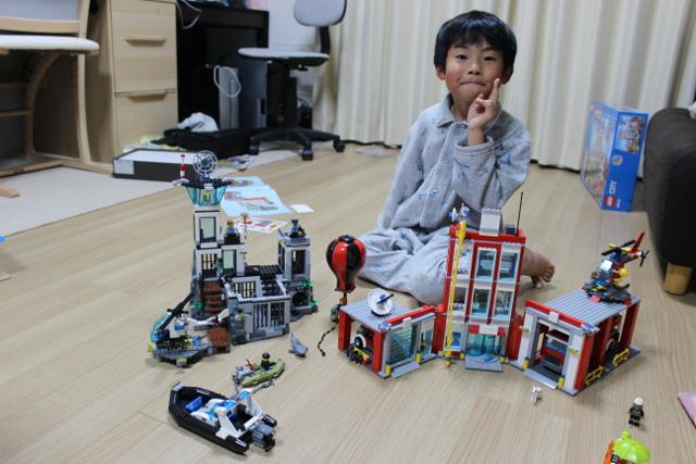 陸ちゃん6歳の誕生日プレゼント