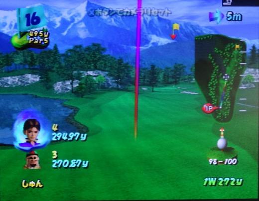 ゴルフパラダイスをプレー 第4回 (2)