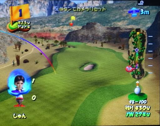ゴルフパラダイスをプレー 第4回 (7)