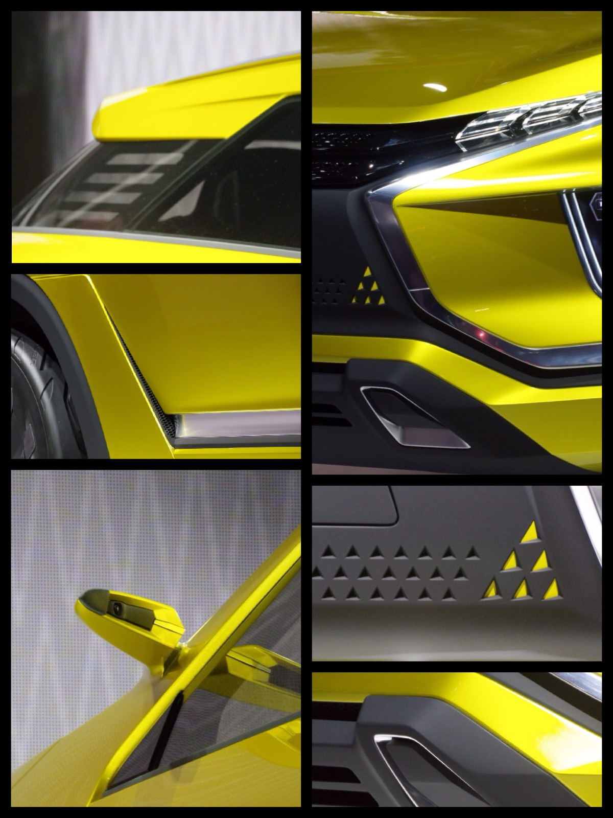 三菱 eおXコンセプト EV SUV 東京モーターショー2015