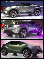 TOYOTA C-hR Concept トヨタchrコンセプト 東京モーターショー