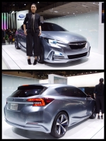 東京モーターショー2015 スバル インプレッサ 5ドア コンセプト