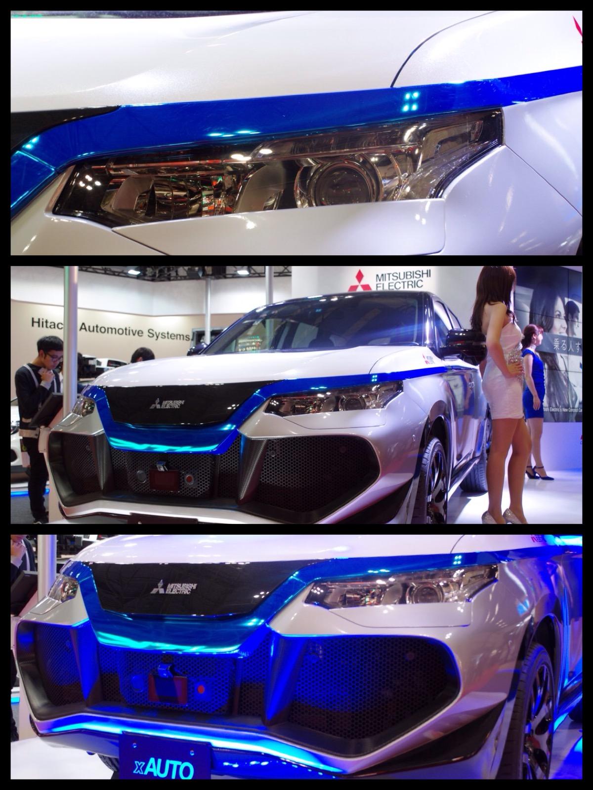 東京モーターショー2015 三菱電気 EMIRAI3 xAUTO