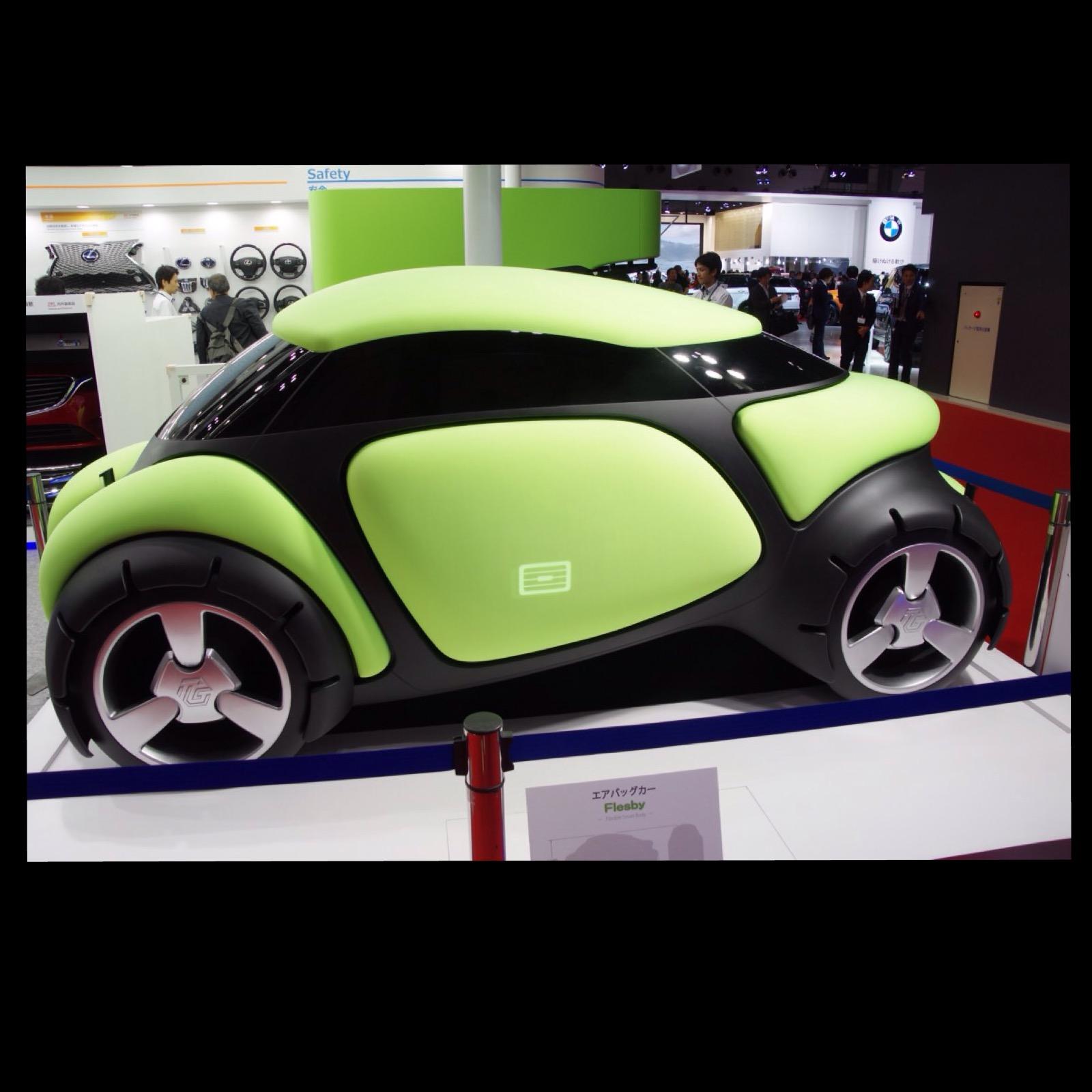 東京モーターショー2015 エアバッグカー