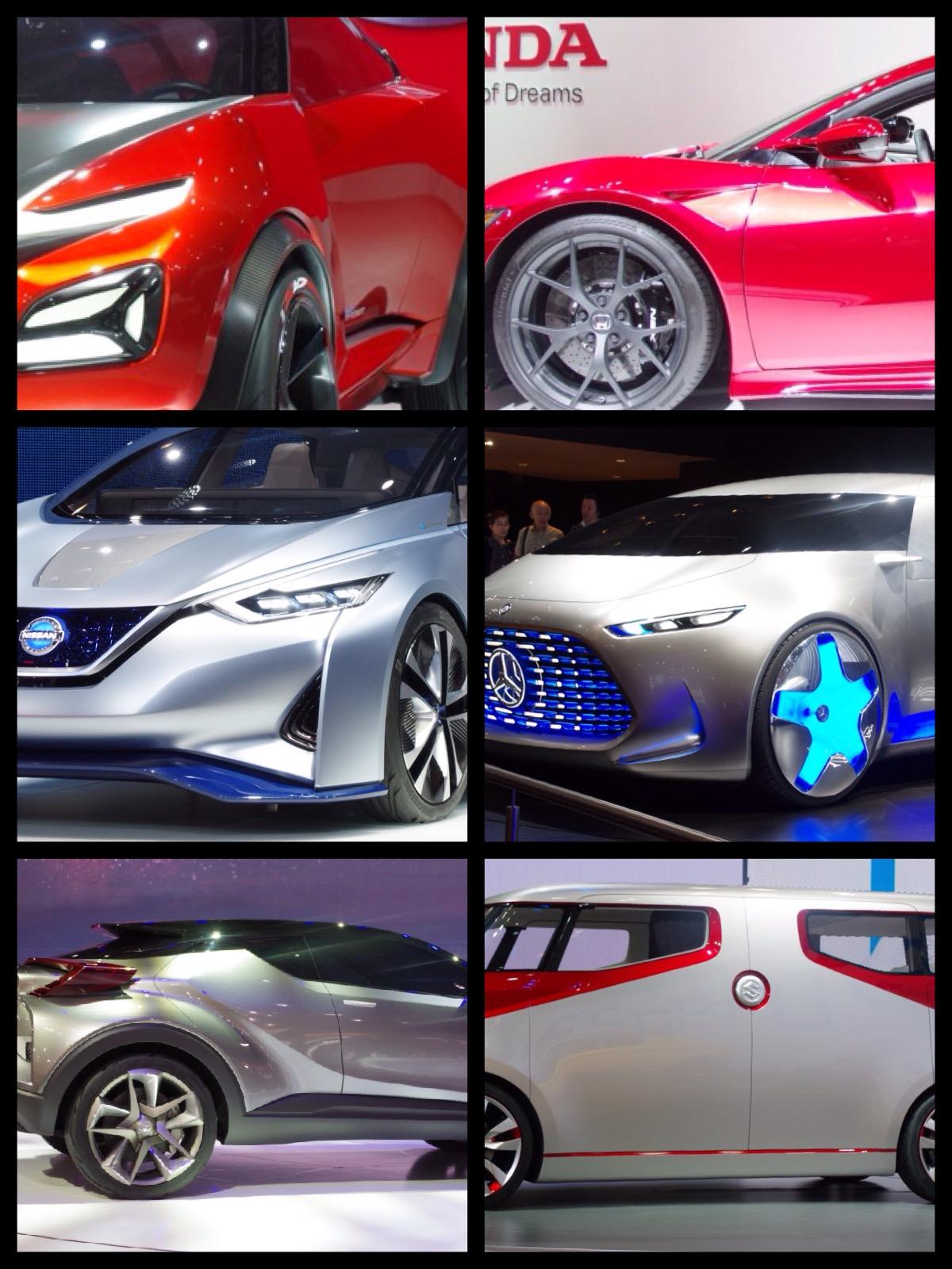 2015東京モーターショー カラートレンドは赤とメタリックシルバーか