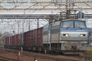 3091レ(=EF66-125+EF65-123牽引)