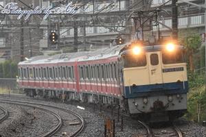 9866レ(=EF65-2119牽引):京急新1000形(6両)甲種輸送