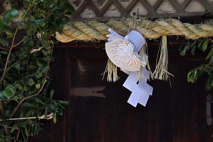 お水取り 蜂の巣飾り4