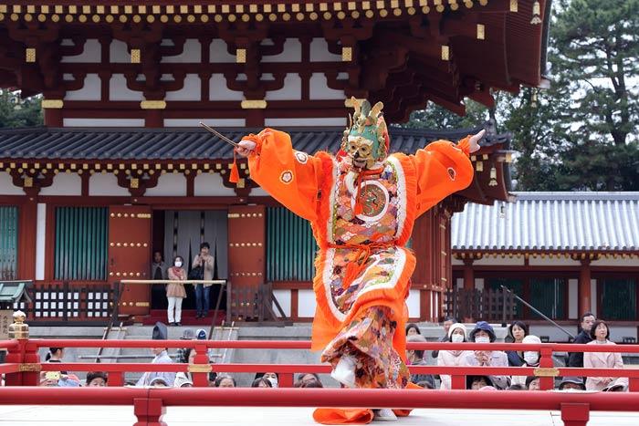 薬師寺 花会式 舞楽3