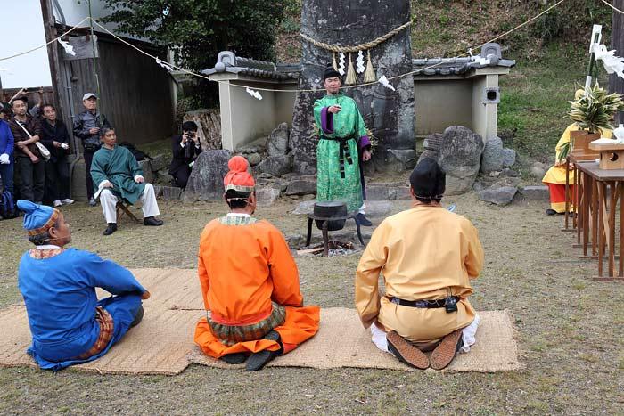 甘樫坐神社 盟神探湯2