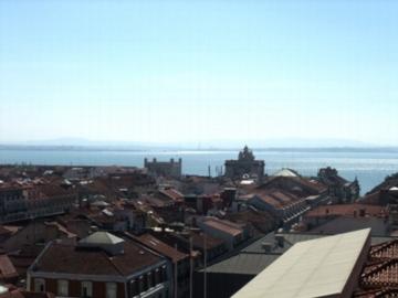 ポルトガル299サンタジュスタ眺望