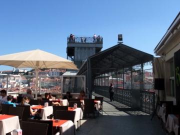 ポルトガル300サンタジュスタ眺望