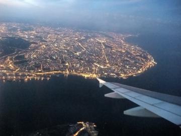 ポルトガル305飛行機から