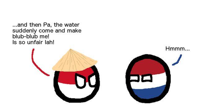 インドネシアがブクブクよ (3)