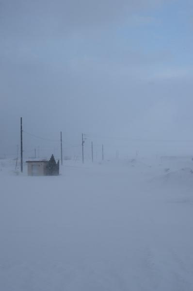 雪原*小屋