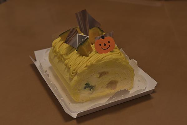 ハロウィンカボチャケーキ