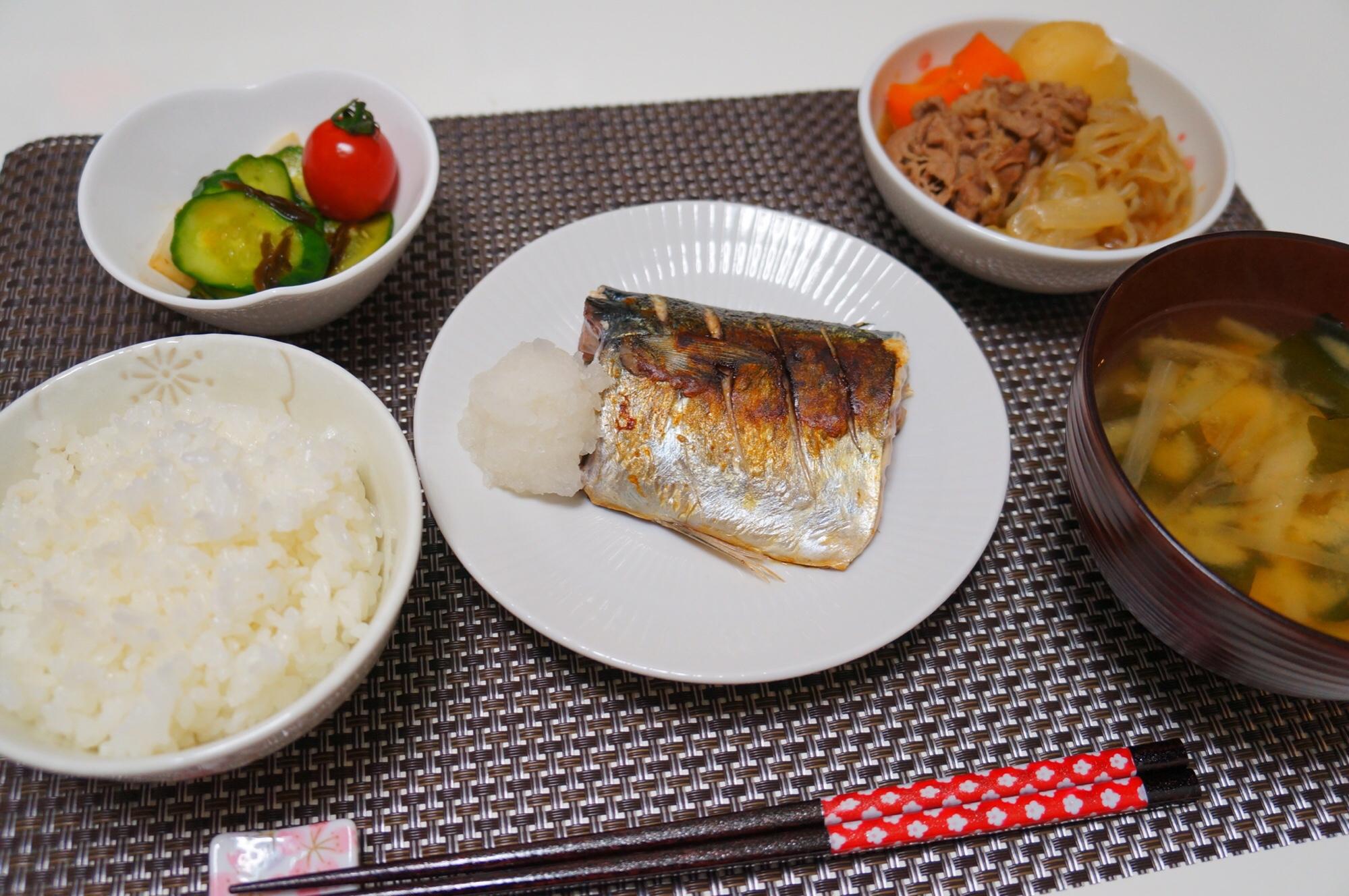 鯖 の 塩焼き 定食