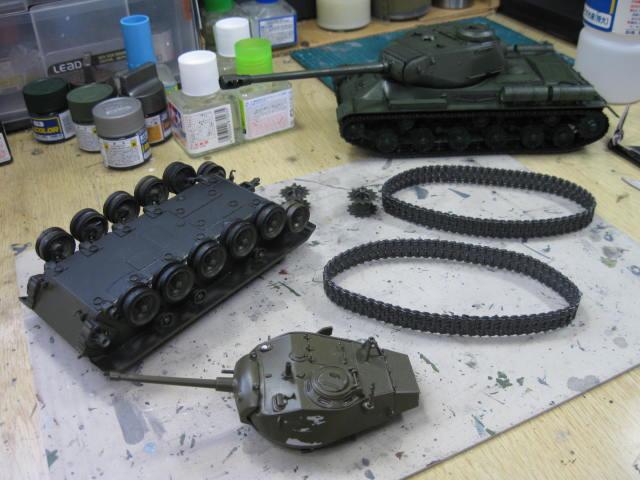 M24 塗り直し開始の1