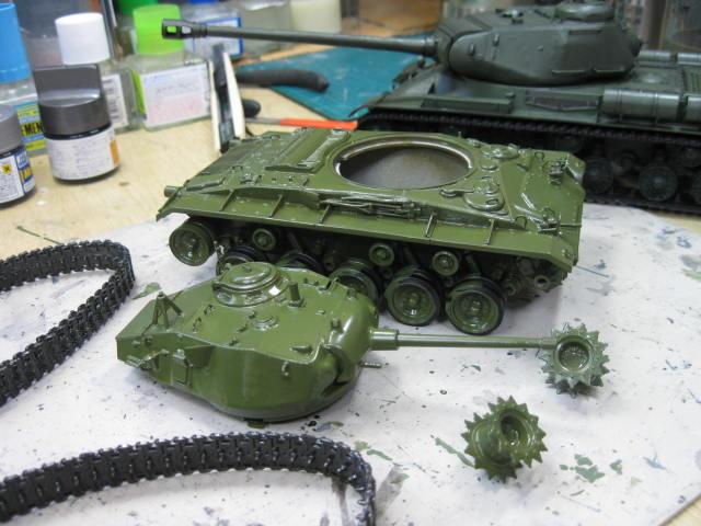 M24 塗り直し開始の2