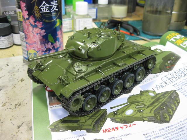 M24 塗り直し開始の3