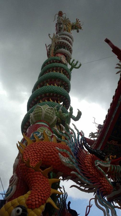 タイ・チェンマイのドラゴンちゃん