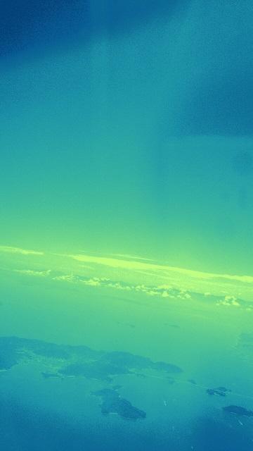 【ダンスレッスンに行ったミーママがアジアの空から見た水平線】02