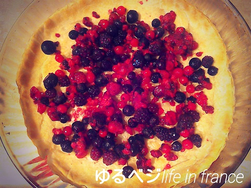 mix berry tarte⑧