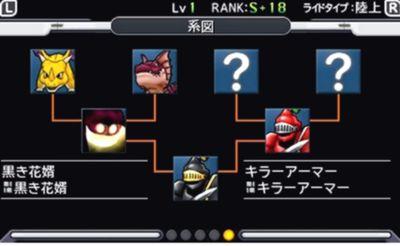 ジョーカー3 攻略 ランクSモンスター 『シュバルツシュルト』 入手方法 特殊配合