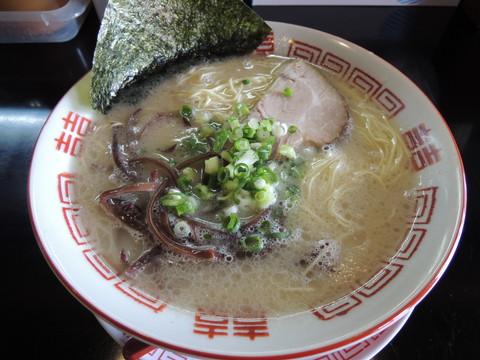 長浜ラーメン(680円)