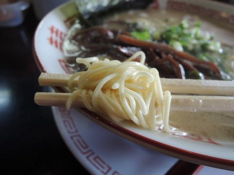 長浜ラーメンの麺