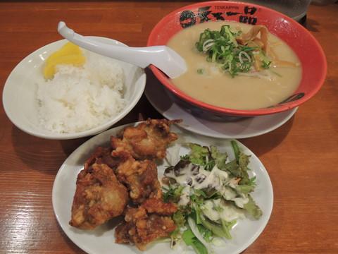 カラアゲ定食(こってり)(1000円)