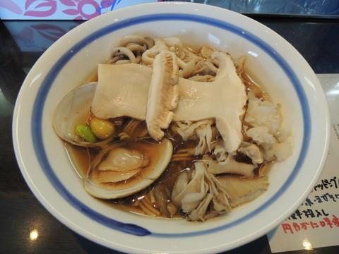 新・秋薫る正油らぁ麺(1600円)