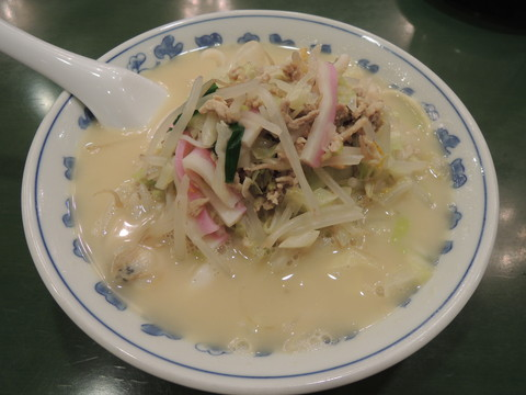 湯麺(ちゃんぽん)(864円)