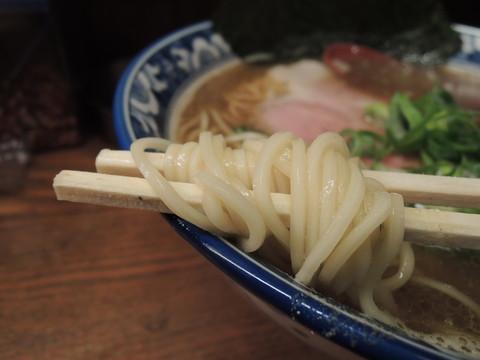 煮干らーめんの麺