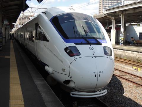 博多行特急かもめ24号(2024M列車)