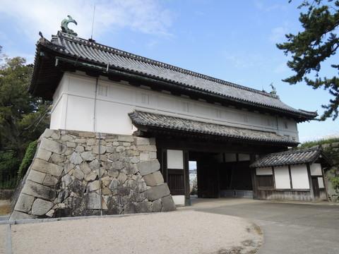 佐賀城本丸(鯱の門)