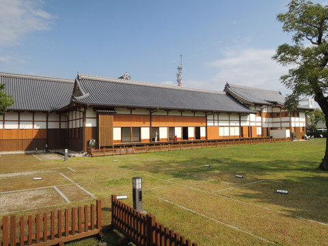 佐賀城本丸歴史館(御座間から外御書院方面)