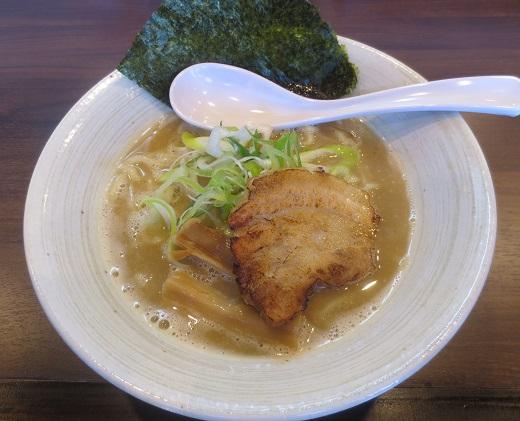 和風とりそば(¥700)※煮干し多め